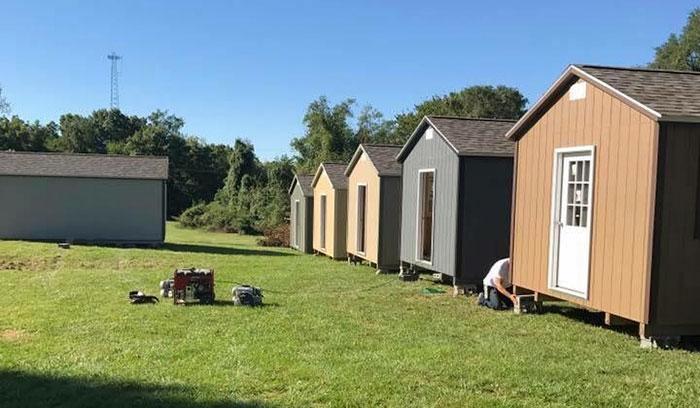 homeless veterans free houses community kansas 40 Mỹ: Ngôi làng dành cho các cựu chiến binh vô gia cư rất ấm áp tình người
