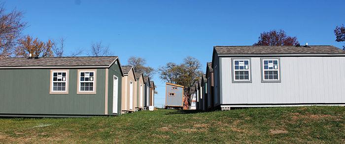 homeless veterans free houses community kansas 58bfdc9e23313  700 Mỹ: Ngôi làng dành cho các cựu chiến binh vô gia cư rất ấm áp tình người