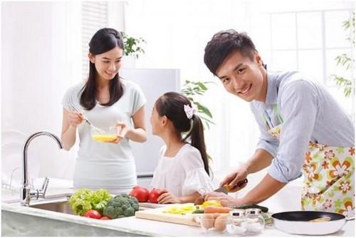 Kết quả hình ảnh cho nấu ăn cho gia đình