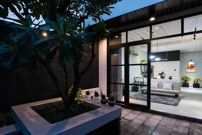 Nhà phố đẹp 110 m2 ở quận 8, TP. HCM (4)