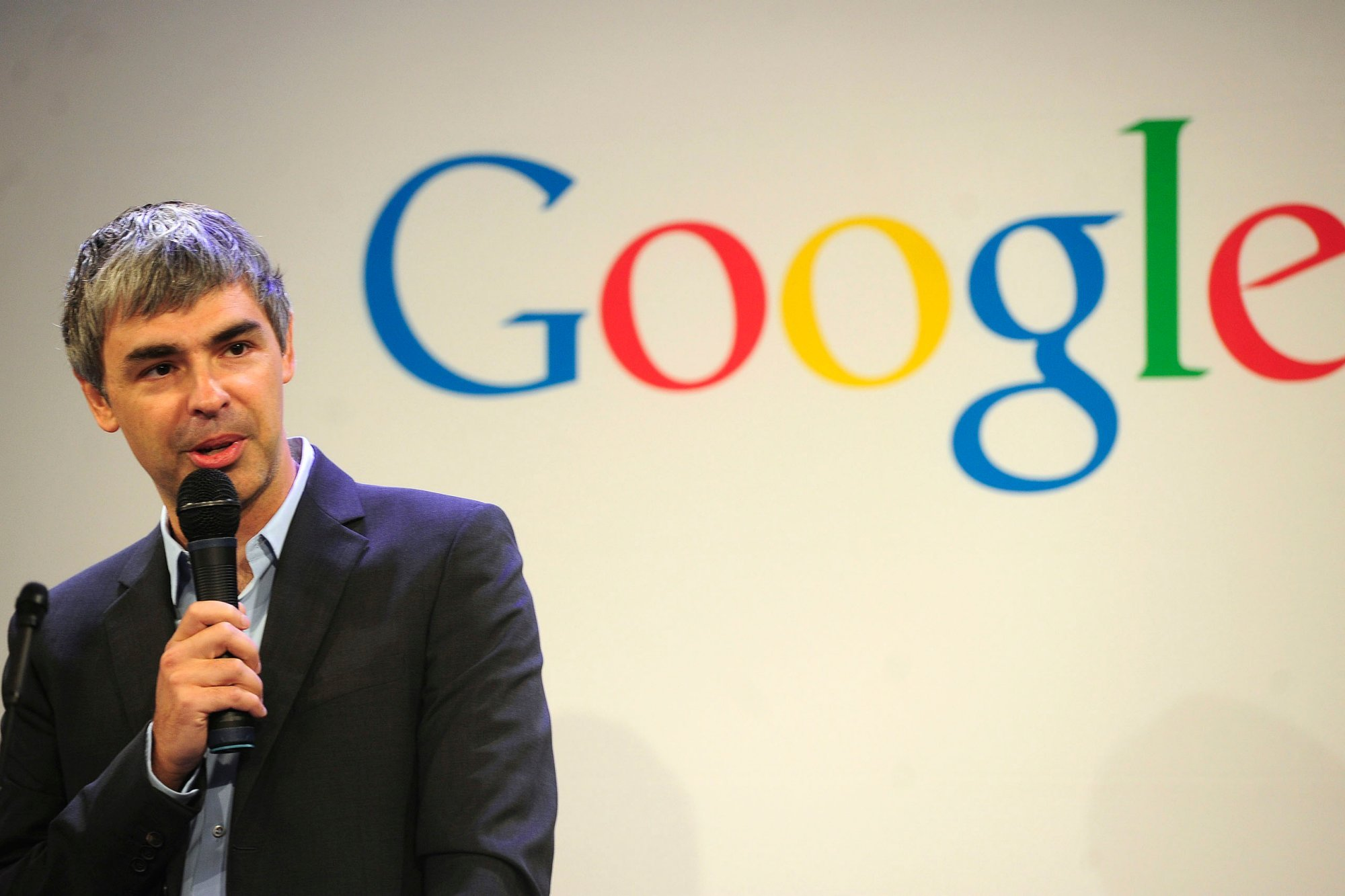 Larry Page Google cube