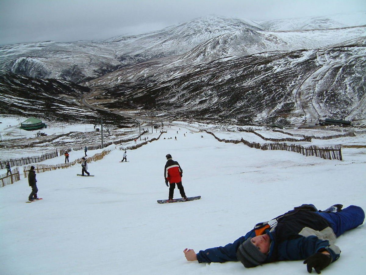 Spend a day skiing or snowboarding in the mountains of Glenshee, Glencoe, or Nevis, where you