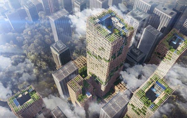 tòa cao ốc gỗ cao nhất thế giới