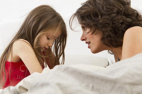 cha mẹ tâm sự cùng con