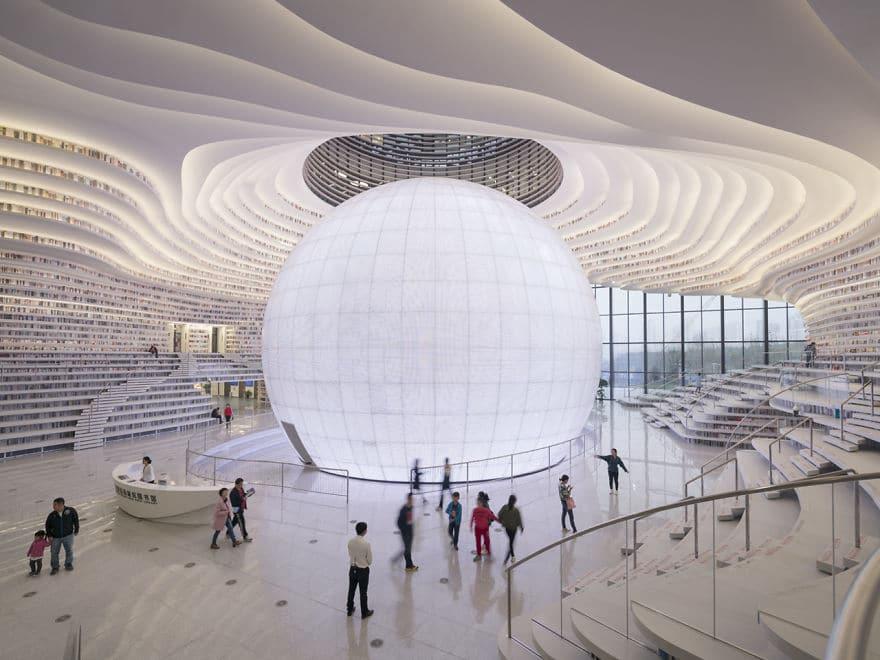 Thư viện rộng 34.000 m2