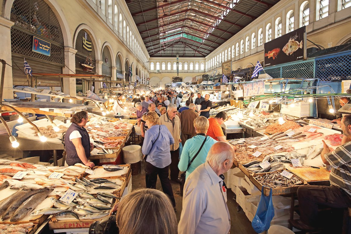"While in Athens, make a stop at its Central Market to experience the ""agora"" (marketplace), an integral part of Greek culture. It"