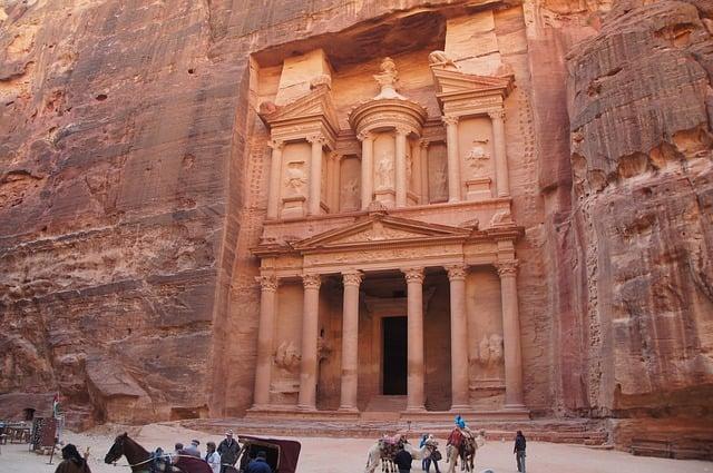 Thành phố bị thất lạc Petra. (Ảnh: Pixabay)
