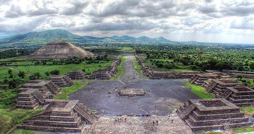 Thành phố cổ đại Teotihuacan ở Mexico. (Ảnh: Stargate Wikia)