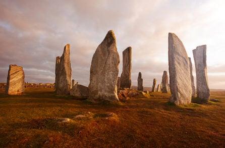 Vòng tròn đá ở Lewis, Scotland. (ảnh: Shutterstock)