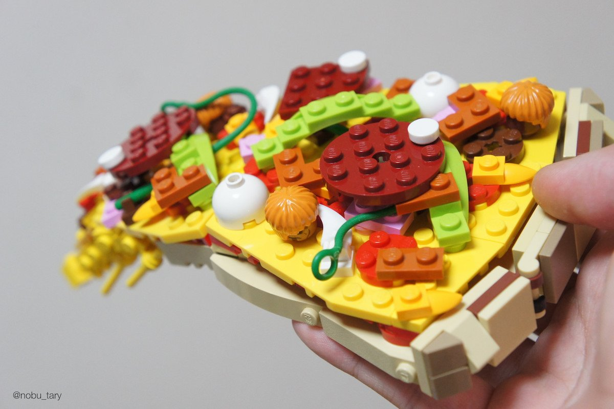 Một tác phẩm Lego tinh xảo.