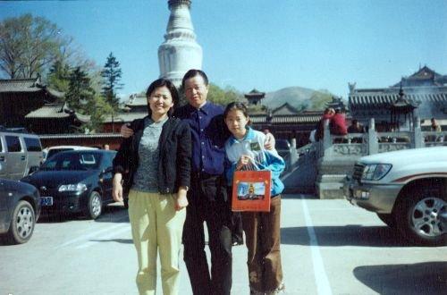 Luật sư Cao Trí Thịnh, vợ Cảnh Hoà và con gái Cảnh Cách