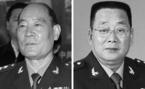 Ông Lý Kế Nại (trái) và ông Liệu Tích Long.
