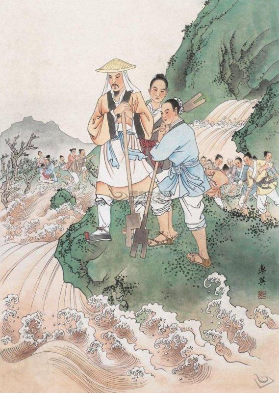 Truyền thuyết Đại Vũ trị thủy: Thuần hóa sông Hoàng Hà, khai Long Môn