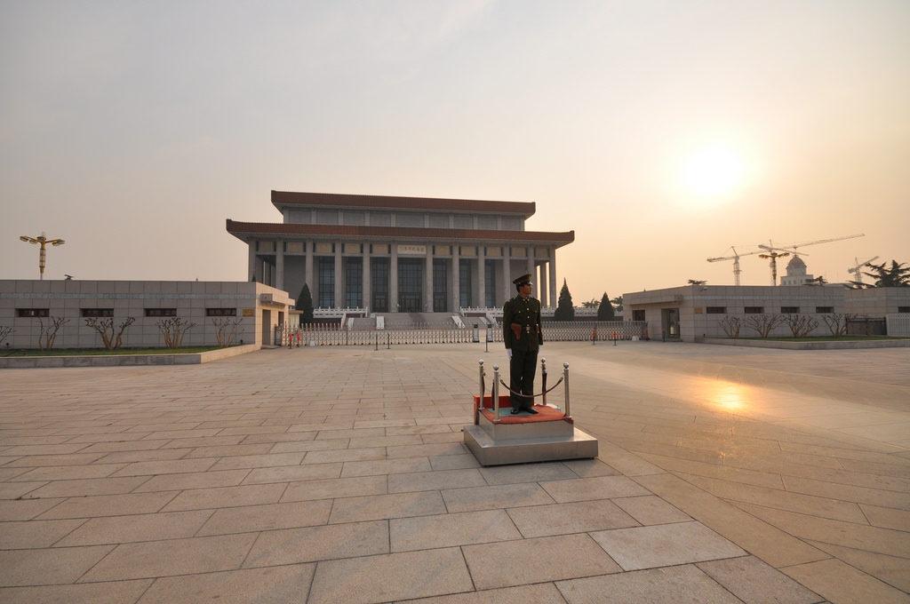 Nhà tưởng niệm Mao Trạch Đông (Ảnh: Jorge Lascar/ Flickr)