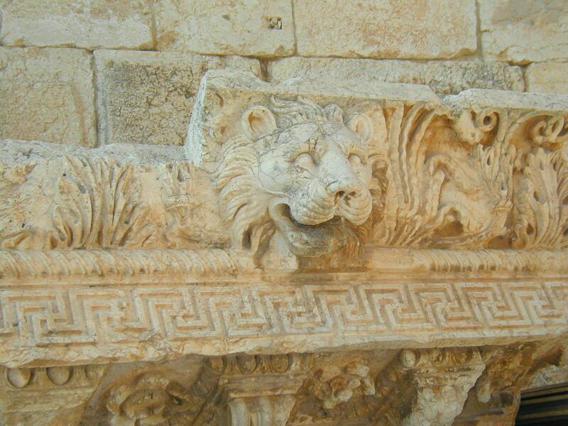 Phù điêu trang trí trong đền Jupiter (ảnh: BlingBling10/Wiki)