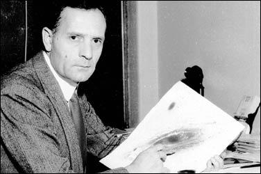 Edward Hubble – một trong những nhà vũ trụ học quan trọng nhất của thế kỷ 20 (Ảnh: Pics about Space)