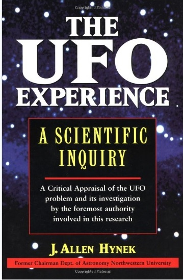 Tác phẩm của Hynek thể hiện suy nghĩ của các nhà thiên văn về UFO.