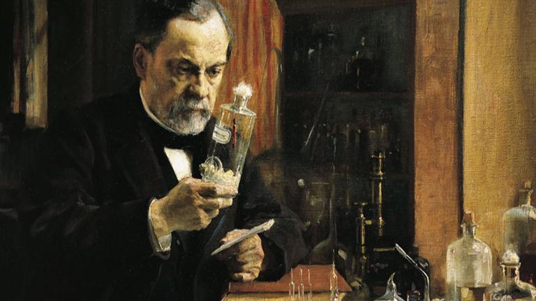 Louis Pasteur (Ảnh: biography.com)