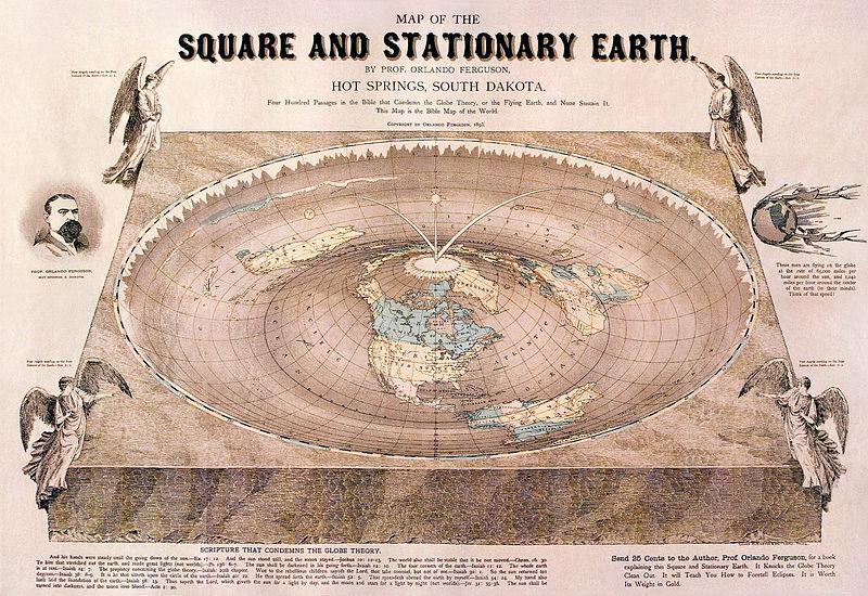 Liệu thiên văn học cổ đại có chỉ giới hạn ở những thứ đơn giản như thế giới phẳng hay Trái Đất vuông? (Ảnh: Orlando Ferguson)