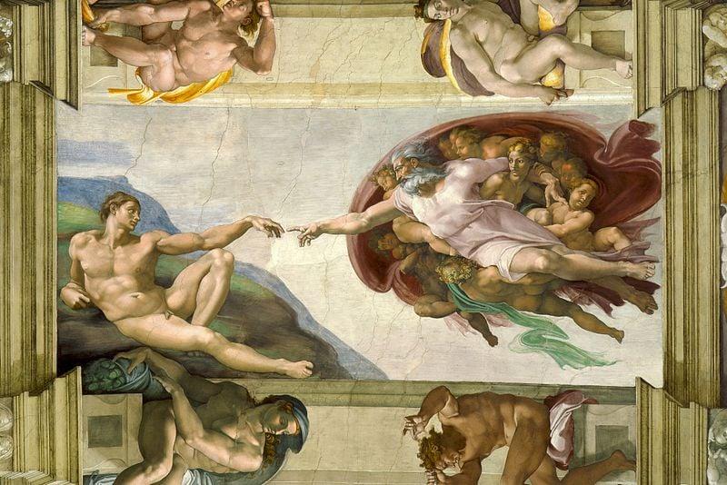 Tìm hiểu nghệ thuật Phục Hưng kỳ I: Nhà nguyện Sistine và bức 'Chúa trời tạo ra Adam'