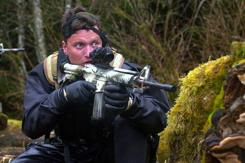 Ông Matt Bissonette, thành viên SEAL đội 6, đơn vị tiêu diệt trùm khủng bố Osama Bin Laden (Ảnh: wikipedia)