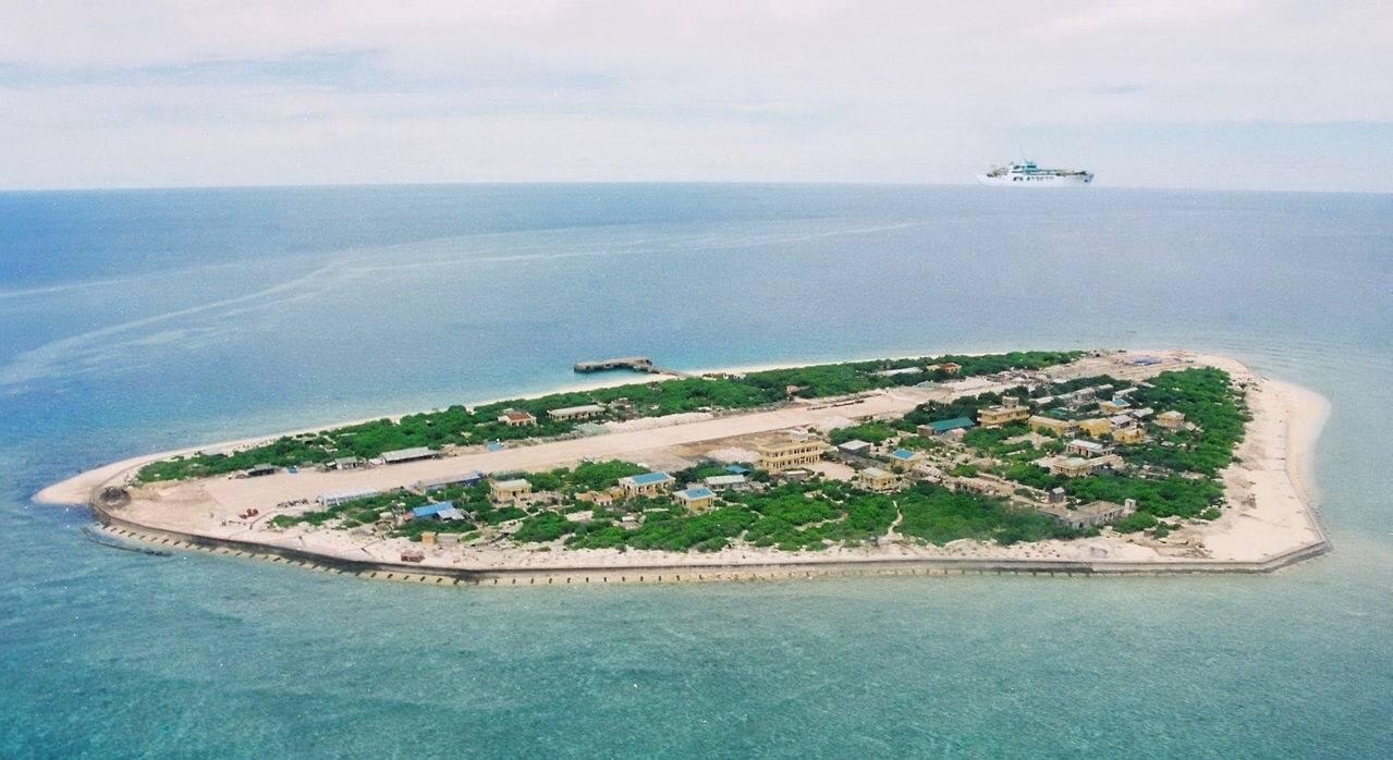 Đảo Ba Bình thuộc quần đảo Trường Sa trên biển Đông, hiện do Đài Loan kiểm soát