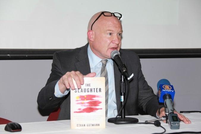 Điều tra viên độc lập Ethan Gutmann, tác giả sách «Đại thảm sát» và « Mất Trung Quốc mới».