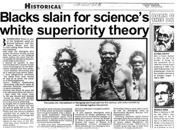 """Nhà nghiên cứu David Monaghan đã dành 18 tháng để ghi lại cuộc thảm sát nhân danh khoa học, ông đã tập hợp thành một tài liệu mang tên """"Những kẻ cắp thi thể của Darwin."""""""