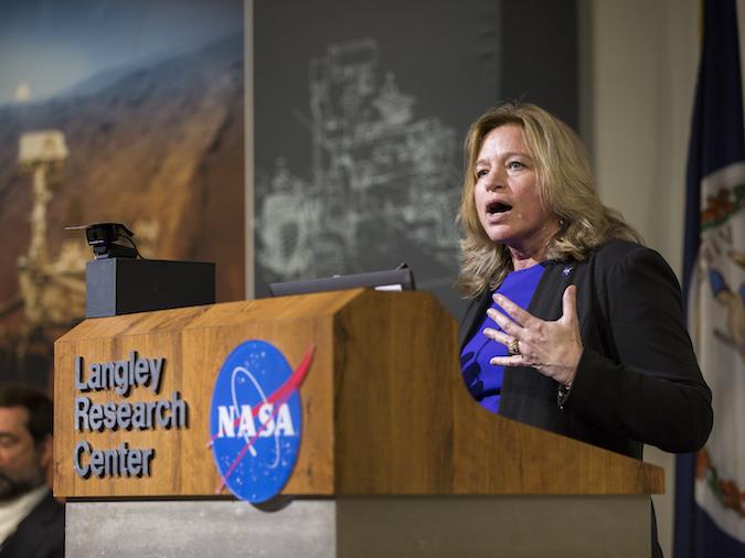 Nhà khoa học đứng đầu NASA - bà Ellen Stofan (Ảnh: NASA)