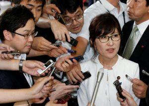 Bà Tomoni Inada, tân Bộ trưởng Quốc phòng Nhật Bản (Ảnh: Facebook)