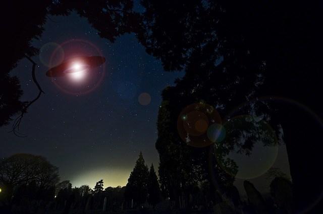 Hình ảnh mô phỏng UFO (pixabay)