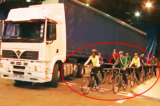 Điểm mù nguy hiểm của xe tải, bạn có biết?
