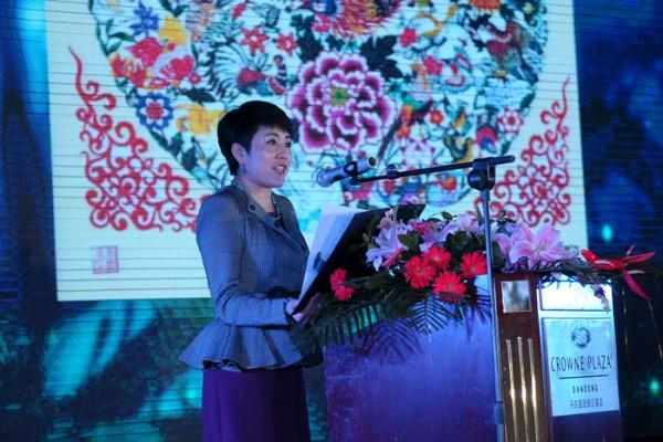 Mã Hiểu Hồng, người đứng đầu Công ty Phát triển Công nghiệp Hồng Tường.