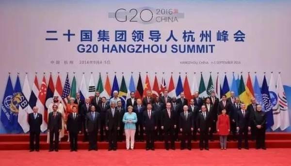 Chiều ngày 4/9, bức ảnh chụp 36 nhà lãnh đạo tham gia Hội nghị Thượng đỉnh G20. Có 2 điểm cần chú ý (Nguồn: Internet)