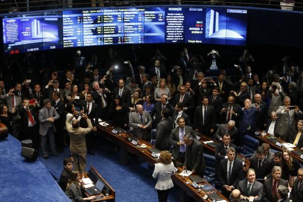 Thượng viện Brazil bỏ phiếu luận tội tổng thống Dilma Rousseff hôm 31/8