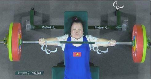dang thi linh phuong gianh huy chuong dong tai paralympic rio 2016 2