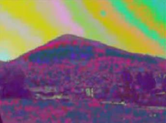Trường năng lượng trên kim tự tháp Mặt Trời ở Bosnia