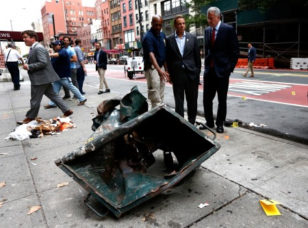 Quả bom ở New Jersy đặt trong một thùng rác