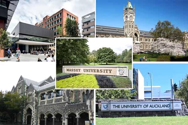 trường đại học hàng đầu tại New Zealand