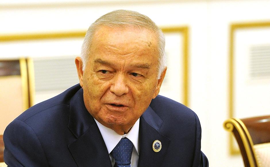 Tổng thống Uzbekistan Islam Karimov, một trong những nhà độc tài cuối cùng của các nước thuộc khối Liên Xô cũ