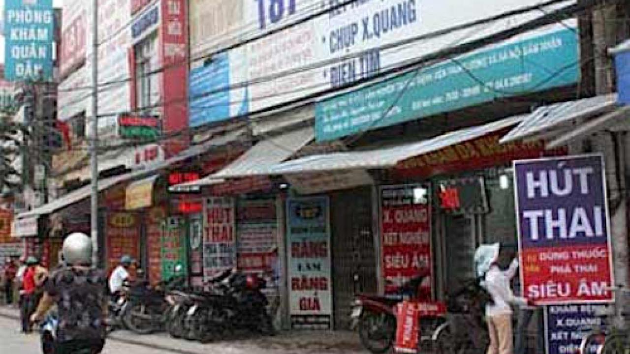 Việt Nam là 1 trong 3 nước có tỷ lệ nạo phá thai cao nhất thế giới