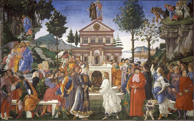Tìm hiểu nghệ thuật Phục Hưng - Kỳ VI: Chúa Jesus vượt qua cám dỗ của ác quỷ