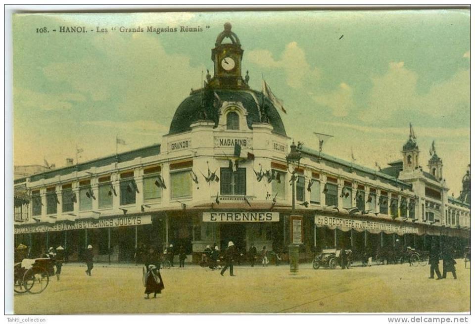Cửa hàng bách hóa của người Pháp (Ảnh: LSVNQA)