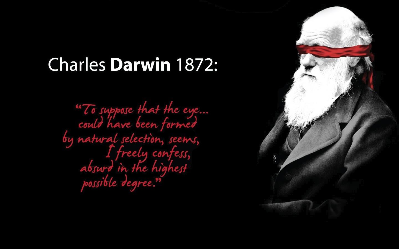 """""""Để nói rằng, đôi mắt được tạo thành chỉ bằng chọn lọc tự nhiên, tôi phải thú nhận rằng, là điều ngớ ngẩn ở mức độ cao nhất"""" - Darwin nói năm 1972"""