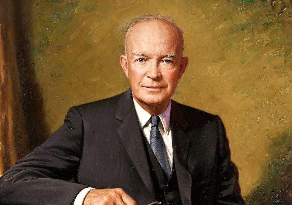 Tổng tư lệnh Dwight David Eisenhower. (Ảnh: Wikipedia)