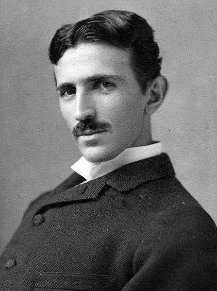 Ảnh chụp Nikola Tesla năm ông 34 tuổi (Ảnh: Wikimedia)