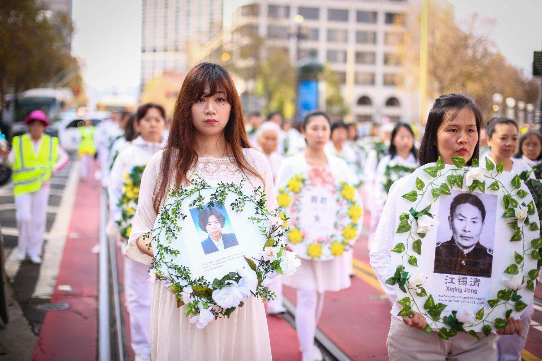 Diễu hành tại Mỹ, nâng cao nhận thức về cuộc đàn áp Pháp Luân Công tại Trung Quốc.