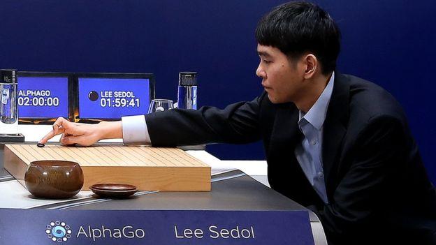 Chiến thắng kỳ thủ cờ vây có thể xem là bước ngoặt lớn đối với trí tuệ nhân tạo (Ảnh: Google)