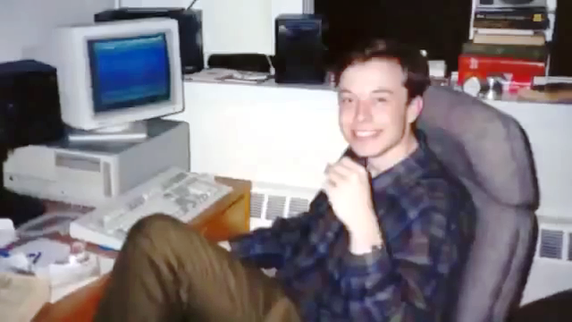 Elon Musk tuổi thiếu niên