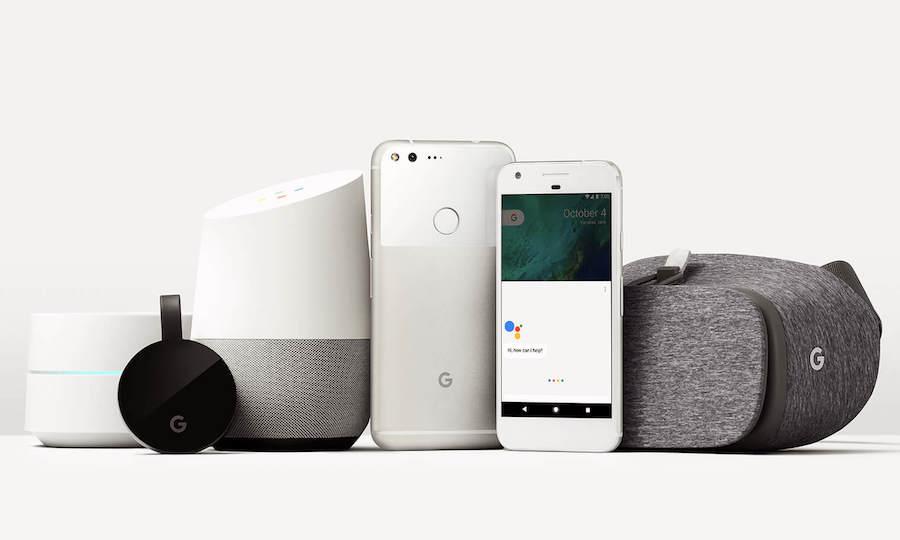 5 thiết bị mới ra mắt của Google (Ảnh: Google)